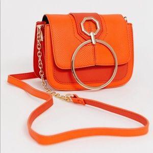 NWOT River Island Orange Crossbody Bag